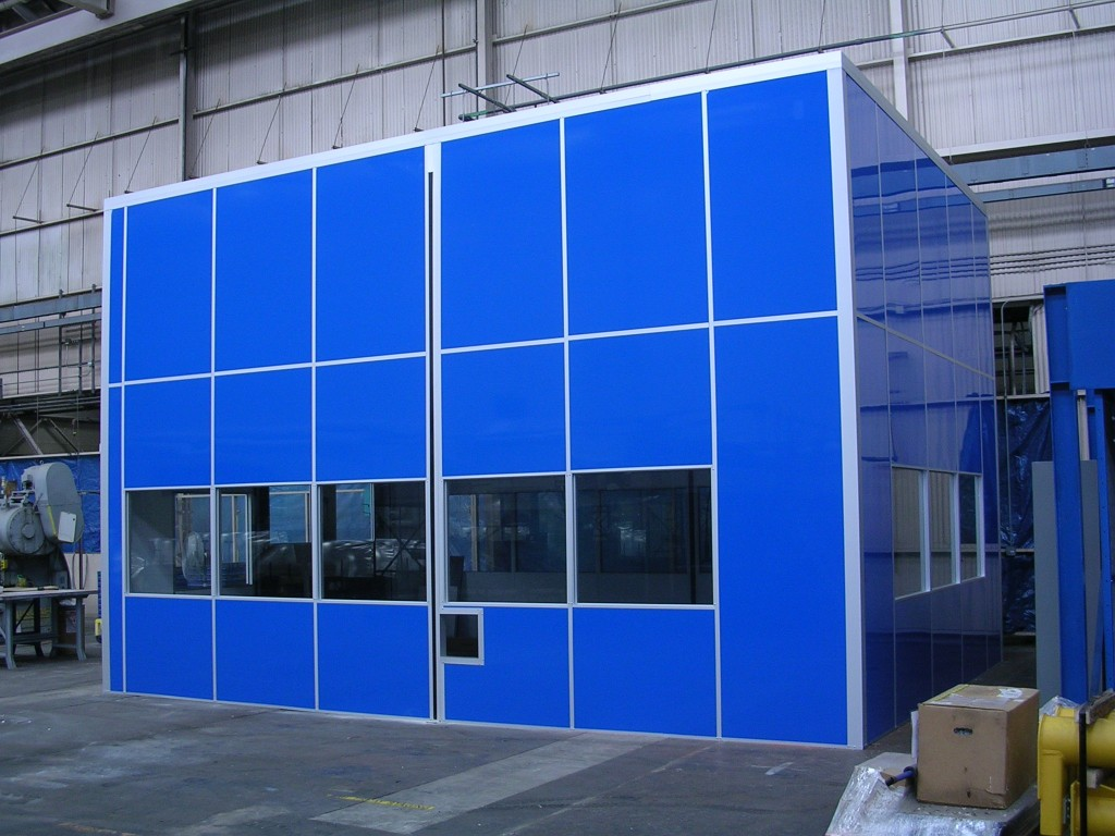 Hardwall Modular Clean Rooms