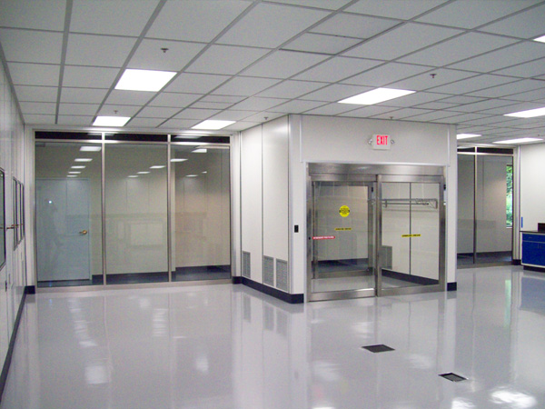 Positive Pressure Cleanroom