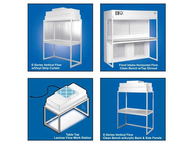 Cleanroom Benches & Flow Work Stations