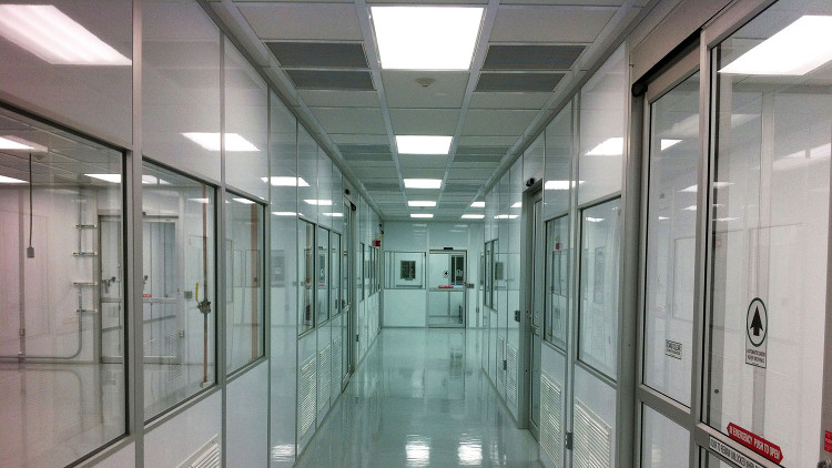 Class 1000 Modular Cleanroom Ceiling System