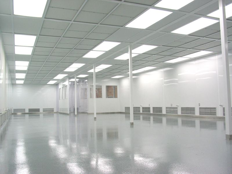Cleanroom Ceiling Installation