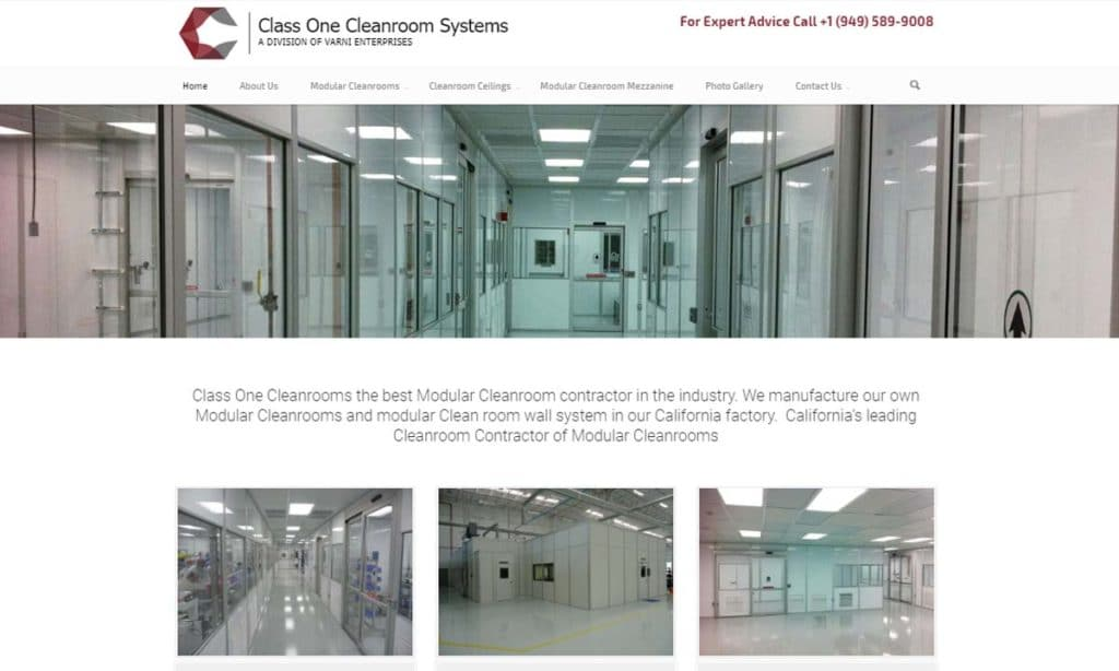 Class One Cleanroom Systems