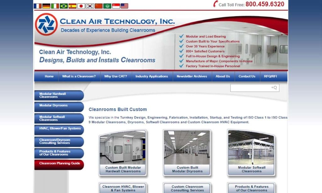 Clean Air Technology, Inc.
