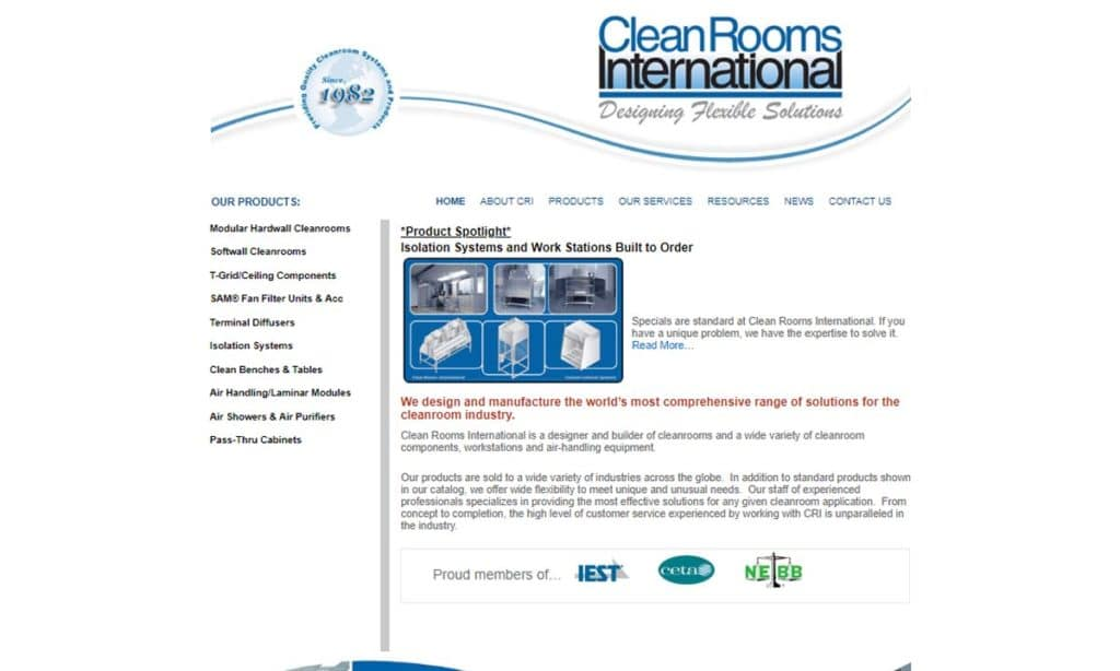 Clean Rooms International, Inc.