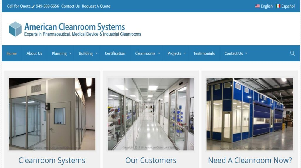 American Cleanroom Systems