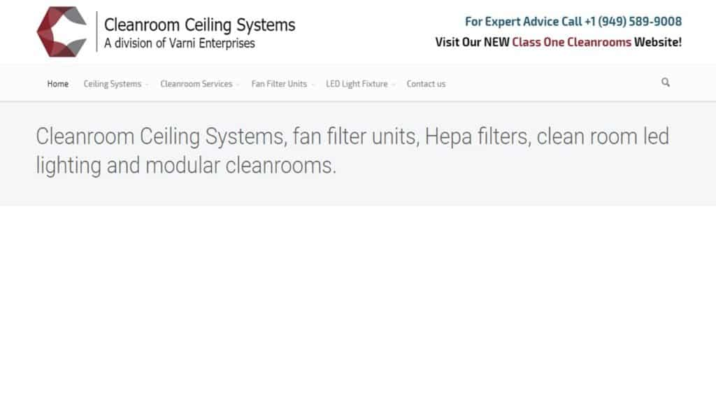 Cleanroom Ceilings, Inc.