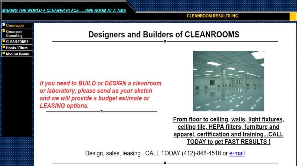 Cleanroom Results