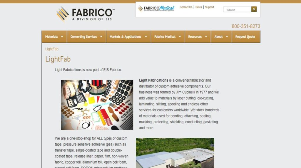 Light Fabrications, Inc.