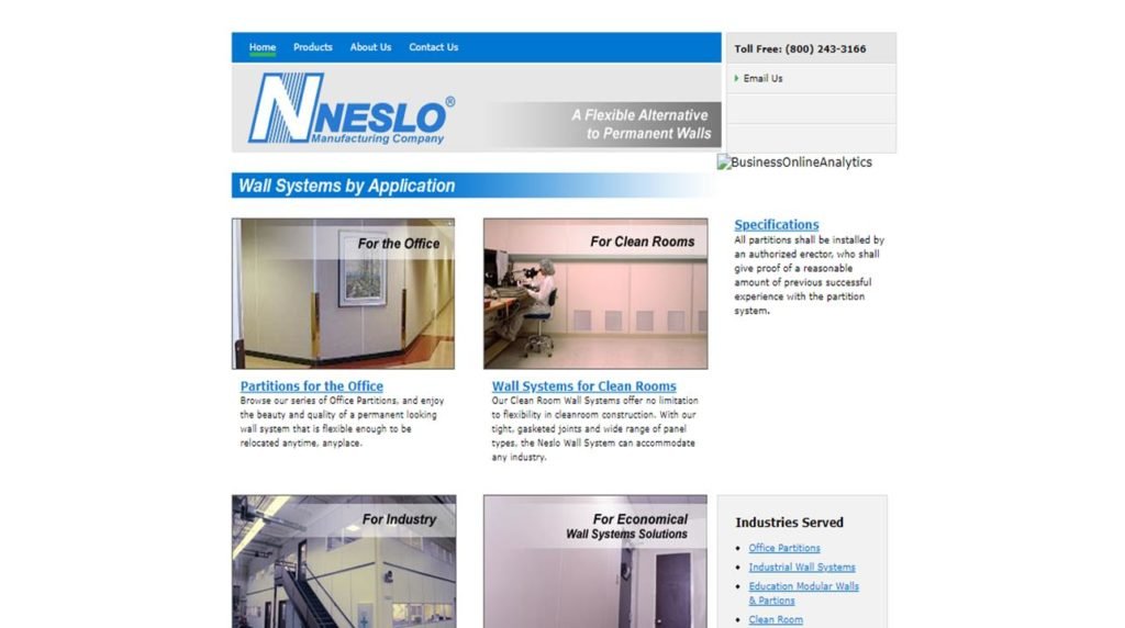 NESLO® Manufacturing Company