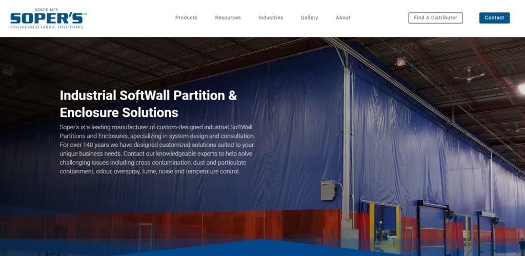 Soper's Engineered Fabric Solutions
