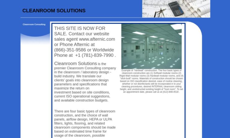 Cleanroom Solutions, LLC