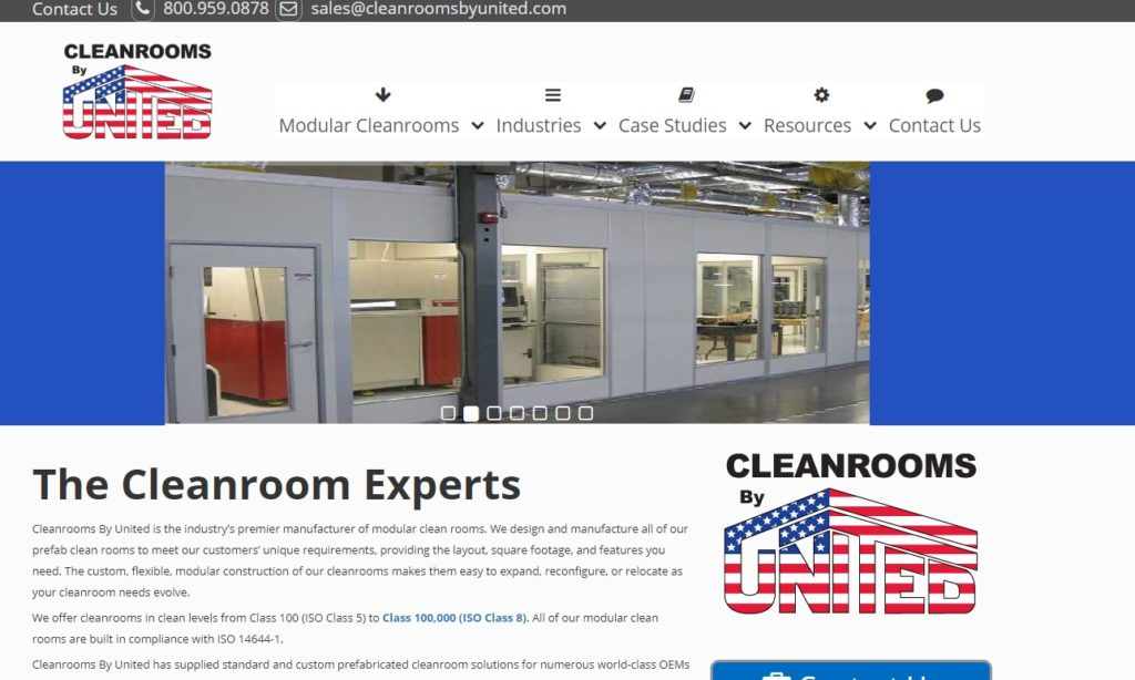 Cleanrooms by United