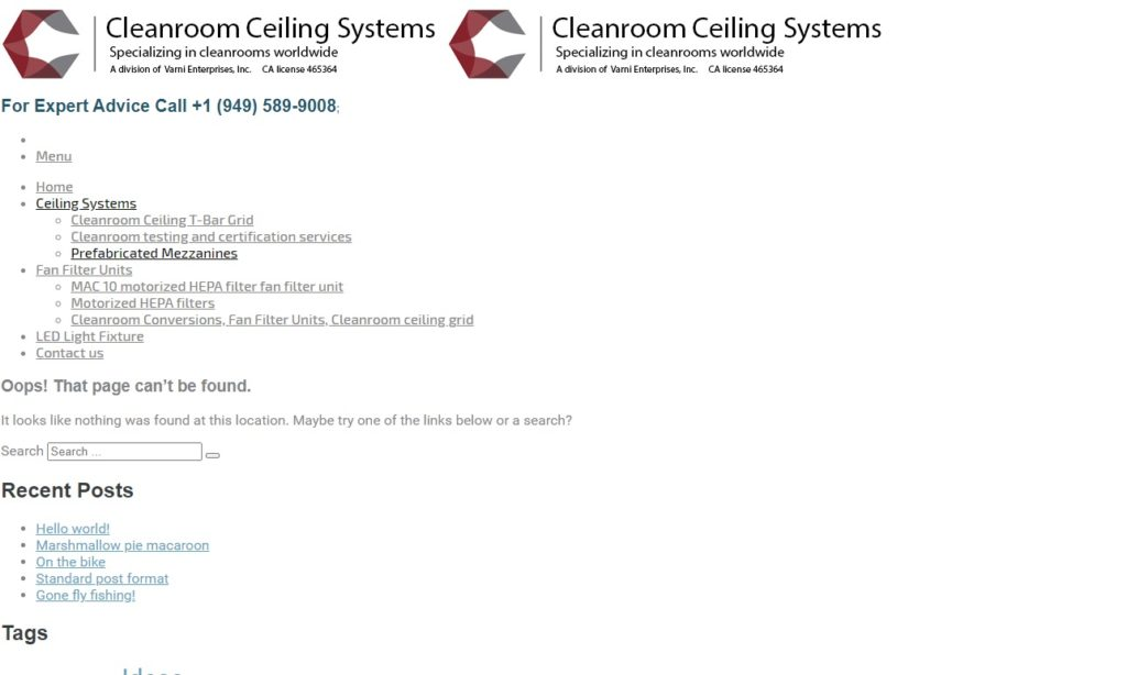 International Cleanroom Systems